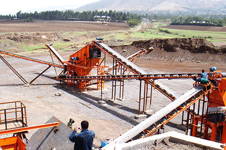 50-70t/h Gold Ore Crushing Production Line in Malaysia
