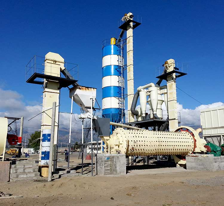 21T/H Ball Mill for Processing Silicate in Bangladesh